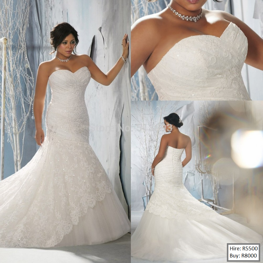 Plus Size Mermaid Wedding Dresses With Bling Fashion Dresses
