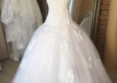 lace ballgown low waist full pic